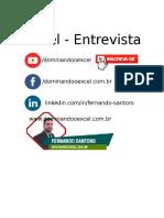 Teste Excel - Entrevista de Emprego- Nivelamento