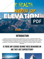 Elevation the Remarkable Health Benefits of Living at Altitude