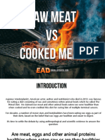 Raw Meat vs. Cooked Meat - Which is Healthier