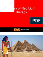 The History of Red Light Therapy Phototherapy