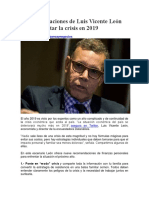 9 recomendaciones de Luis Vicente León para enfrentar la crisis en 2019.docx