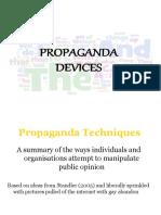 Lecture Propaganda Devices