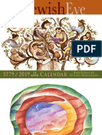 Calendario Hebreo Gregoriano 2019-5779