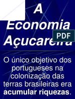 ECONOMIA AÇUCAREIRA