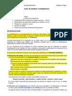 Obl_critalizacion Disolvente Inorganico y Organico Clases_2