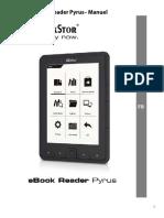 TrekStore Série eBook-Reader Pyrus - Manuel de l'Utilisateur - V1-10_FR