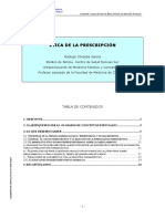 Etica de la prescripcion