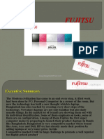 Presentation on Fujitsu Marketing Plan