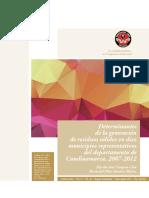 Determinantes de la generación de residuos sólidos en diez municipios representativos del departamento de Cundinamarca, 2007-2012