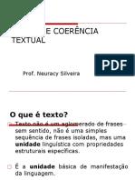 COESÃO E COERÊNCIA ATUAL