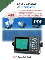 DGPS JRC JLR-7700MKII