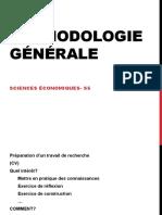 Méthodologie Générale - Partie 1