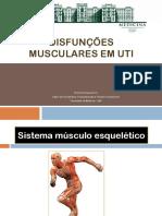 Disfunções Musculares Em UTI_avaliação e Intervenção