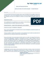 Edital 201901 - Programa de Pós-Graduação Lato Sensu Da FGV DIREITO SP (FGVLAW)