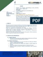 02a-Silabo Autocad Plant 3d 2019-Basico
