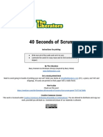 40 Seconds of Scrum