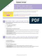 How to Make Long English Sentences Using 5 Methods