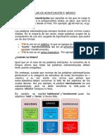 REGLAS DE ACENTUACIÓN 5° BÁSICO
