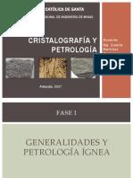 1 Cristalografía y Petrología
