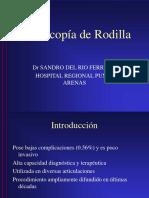 Artroscopía Rodilla