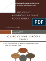 5 Clasificación y Nomenclatura de Las Rocas Ígneas