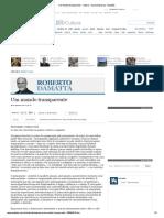 Um Mundo Transparente - Cultura - Versaoimpressa - Estadão