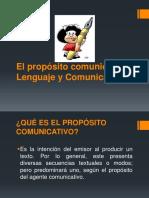El Propósito Comunicativo PPT2