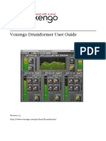 Voxengo Drumformer User Guide