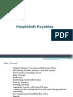 Peoplesoft Payable