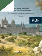 SINDE_Sobre el estilo renacentista y el fin de la arquitectura española.pdf