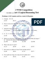 WMI GRADE 3 3015