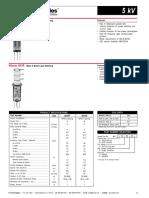 K41P y K41R Kilovac Datasheet