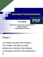 16 Amniotic Fluid Embolism