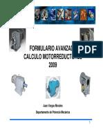 Formulario AVANZADO Motorreductores JV