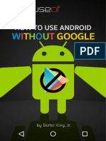 How to Use Android wo Google