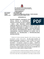 Ri 0004177-22.2015.8.05.0113 Voto Ementa Consumidor Seguro Proteção Recusa Injustificada Danos Morais