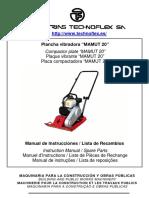 Manual Plancha Compactadora