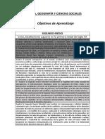 Historia, Geografía y Formación Ciudadana (2º Medio)