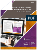 Using State Data Systems to Report Information on Arts Education