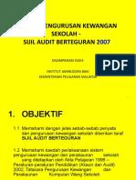 Slide Audit Berteguran