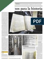 Archivo General de la Nación-Sin recursos para la historia