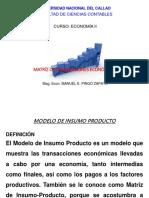 Matriz de Transacciones Económicas