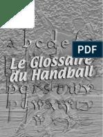 Handball glossary