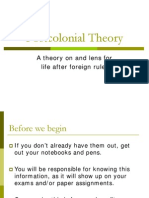 Post Colonial Theory Ppt