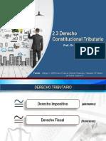 2.3 Dcho Constit. Trib. FCE FIPUB Clase 10 Abr 2019