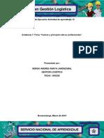 Actividad de aprendizaje 15 Evidencia 7 Ficha Valores y principios eticos profesionales.docx