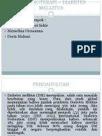 Farmakoterapi – Diabetes Mellitus-1