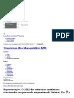 Artigo. Representação 3D-MRI Das Estruturas Anatômicas