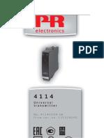 PR Electronics 4114