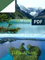 Geografía Región insular